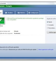 Instalando o Microsoft Security Essentials no Windows Server 2012